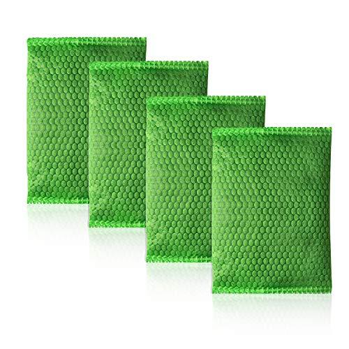 Tomedeks 4 paquetes de bolsas purificadoras de aire con carbón de bambú. Tiene la función de depurar el aire, hacer tu hogar más cálido y dulce, apto para coches y hogares.