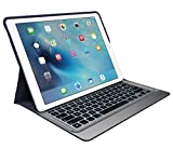 Logitech 920-007776 Create - Wired Keyboard and Folio Case - Apple Smart Connector, Blue/Silver