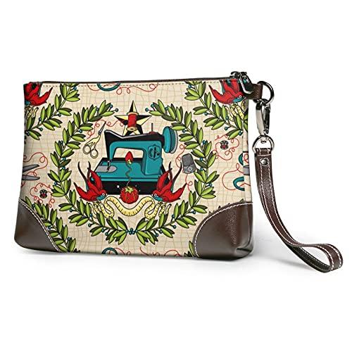 MGBWAPS Schnittmuster Clutch, Leder Clutch Geldbörse, Kosmetiktasche, Clutch Handtasche, (siehe abbildung), Einheitsgröße