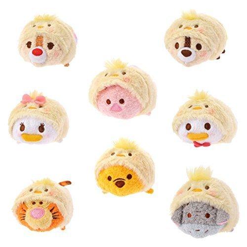 Disney Tsum Tsum Easter Set - Donald Daisy Chip Dale Pooh Piglet Tigger Eeyore (Japan Import) [parallel import goods]