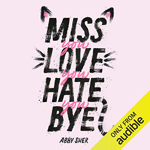 Miss You Love You Hate You Bye audiobook cover art