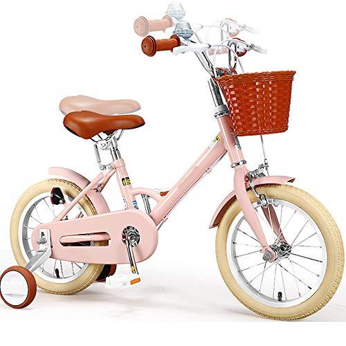 LFFME Balance Bike 14-16'para Niños De 3 A 9 Años, Manillar Y Asiento Ajustables En Altura, Marco De Acero Al Carbono Bicicleta De Entrenamiento para Niños,A,16