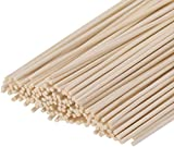 HOSSIAN Set of 100 Reed Diffuser Sticks - Wood Rattan-Reed Sticks -Diffuser...