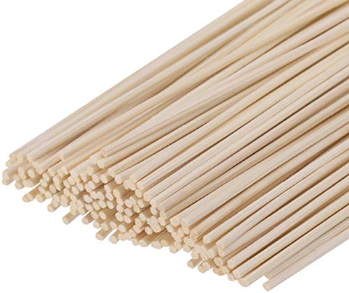HOSSIAN Set of 100 Reed Diffuser Sticks -Reed diffusers-Reed Sticks -Diffuser Glass Bottles-Diffuser Refills- Natural Rattan Wood Replacement for...