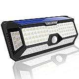 LED Solarlampen für Außen mit Bewegungsmelder - Solarleuchte 4400mAh 2400LM