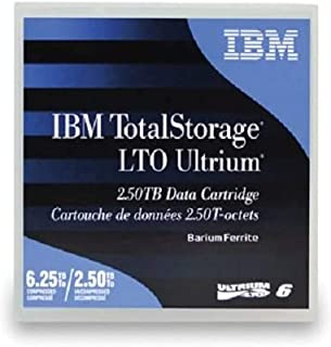 IBM LTO Ultrium 6 Native/Compressed 2.5TB / 6.25TB 1er Pack Sonderartikel (BaFe) (B)