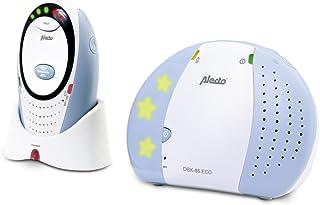 Alecto DBX Digitale Eco DECT babyfoon (100% storingsvrij), hoog bereik, terugspreekfunctie, LED-geluidsweergave lange batt...