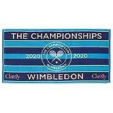 Christy Wimbledon 2020 Championship - Toalla para mujer, color azul