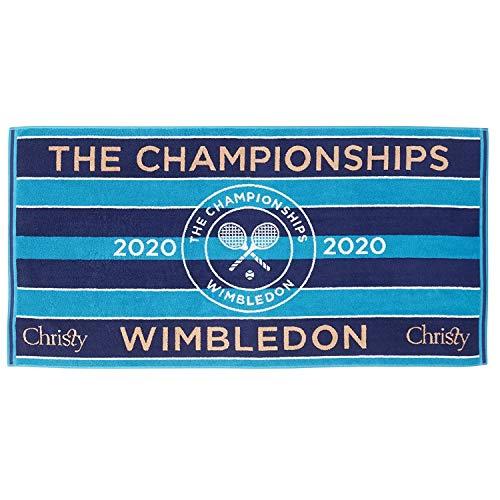 Christy Wimbledon 2020 Championship dames handdoek blauw