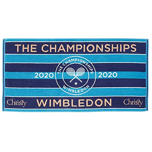 Christy Wimbledon 2020 Championship Damen Towel Blue