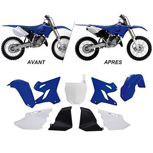 Racetech Destockage Kit Plastique Complet Rtech Compatible Yamaha 125 250 Yz 02-14 / OEM Restyle 15'