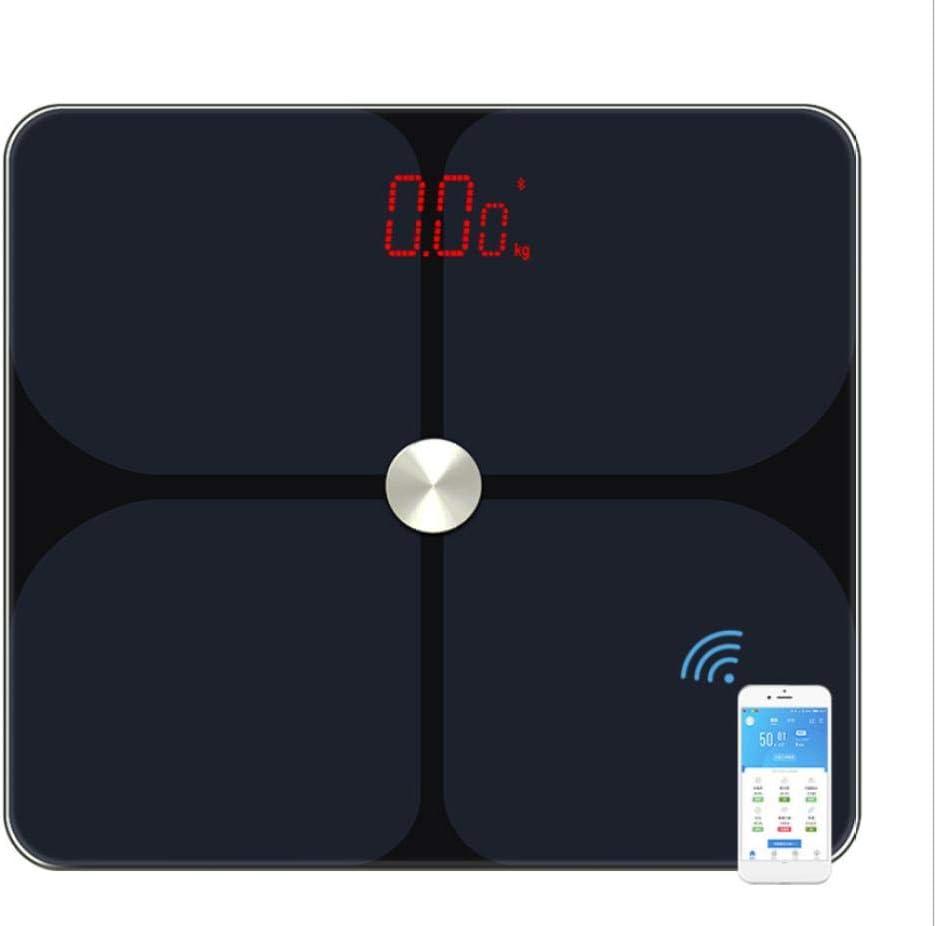 Balanza de grasa corporal báscula de suelo científica inteligente electrónica LED digital balanza balanza de balanza Bluetooth