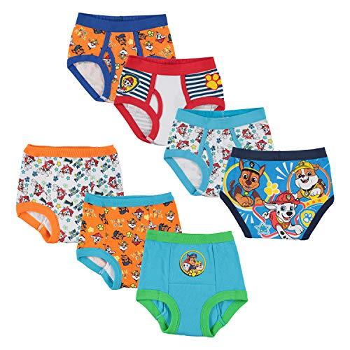 Nickelodeon Toddler Boys' Paw Patrol 3pk Training Pants and 4pk Briefs,PAW multi,4T