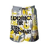 Corona Extra Beer Cool Swim Troncos de secado rápido Casual Hawaiian Malla Forro Corto de Playa con Bolsillos Coron18...