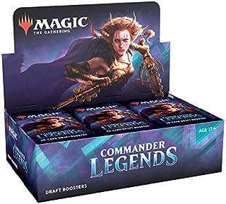 Magic The Gathering Commander Legends   24 boosters de draft (480 cards)   Acessórios   Produto em Português