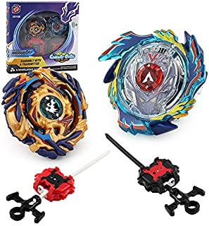 Chengketoys Bey Battle Burst Valkyrie and Drain Fafnir with Launchers and Arena