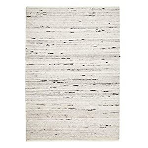 ZJX-F Hand-Woven Rug, Wool Rugs Soft Comfortable Skin-Friendly Living Room Bedroom Sofa Side Table Carpet