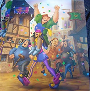 Disney Hunchback of Notre Dame Movie Poster