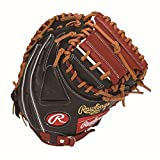 Rawlings(ローリングス) 野球 軟式用 HYPER TECH R2G COLORS ハイパーテックカラーズ [キャッチャー用] 大人用 GRXHTC2AF ブラック/シェリー [ミットサイズ 33.0] [33inch] LH(Right hand throw)※右投用