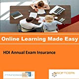 PTNR01A998WXY HDI Annual Exam Insurance Online Certification Video Learning Made Easy