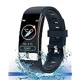 スマート ウォッチ 最新版 スポーツウォッチ smart watch 完全防水 フルタッチスクリーン リストバンド 多機能 お贈り物