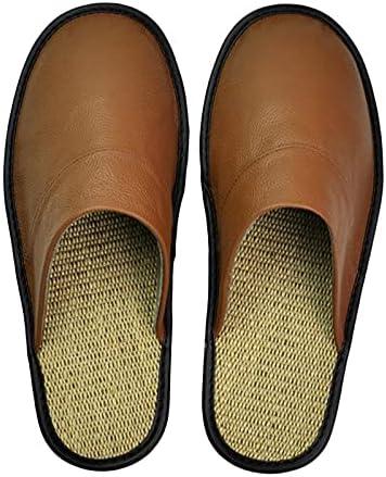 Yuxahiugtuox Mens Sandles Slippers Washington Mall Men Leather Cow Big Sizes Ho El Paso Mall