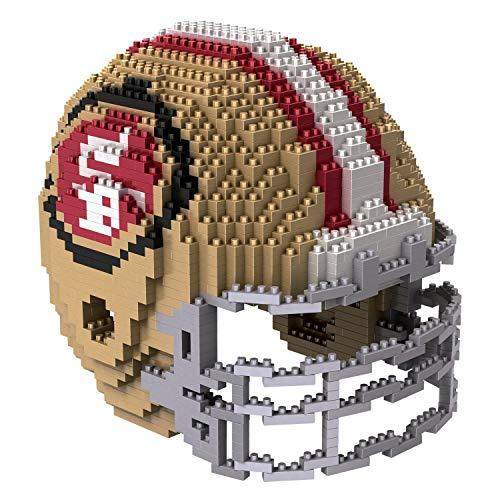 San Francisco 49ers NFL Football Team 3D BRXLZ Helm Helmet Puzzle