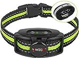 WIZCO Anti bark collar, New Antibark Collar for Large Medium Small Dog, Barking Control IPX67 Waterproof No Shock Collar, Rechargeable Anti Bark Collar for Dogs, Humane