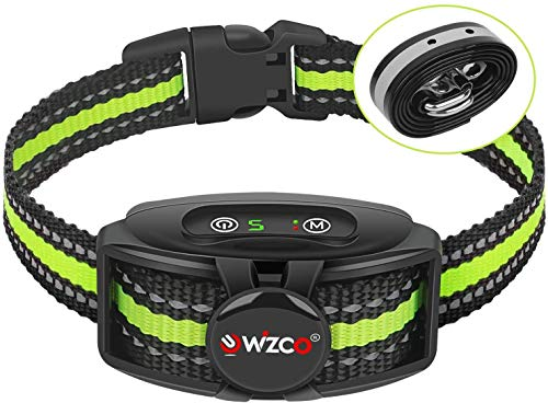 WIZCO Anti bark collar, New Antibark Collar for Large Medium Small Dog, Barking Control IPX67...