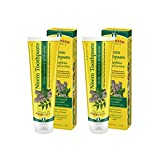 TheraNeem Neem Therape Toothpaste, Mint   Supports Healthy Teeth, Gums & a Fresh Mouth   No Fluoride & Vegan   4.23 oz   2pk