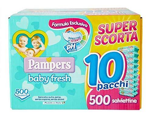 Pampers Baby Fresh Super scorta 500 salviette (50x10)