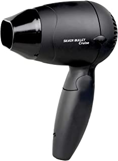 Silver Bullet Worldwide Cruise Travel Dryer 1200W, Black