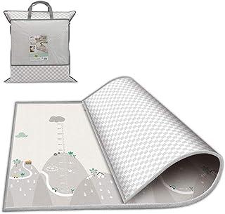 comprar comparacion Takefuns Alfombrilla para niños Infantil Juego Alfombra de juegos plegable para bebé de plástico LDPE reversible impermeab...