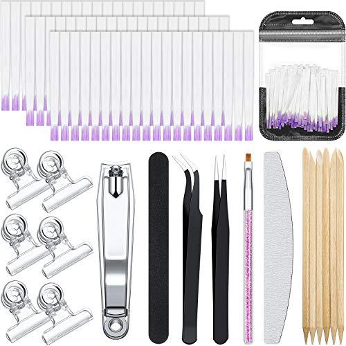 122 Pieces Fiber Nails Kit Nail...