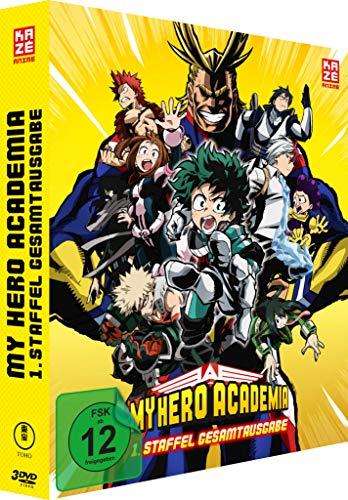 My Hero Academia - Staffel 1 - Gesamtausgabe - [DVD] Deluxe Edition