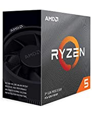 AMD Ryzen 5 3500 with Wraith Spire cooler 3.6GHz 6コア / 6スレッド 19MB 65W【国内正規代理店品】 100-100000050BOX