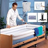 Inflatable Shower Bathtub System - Medical Bath Basin Kit for Disabled Elderly Bedridden P...