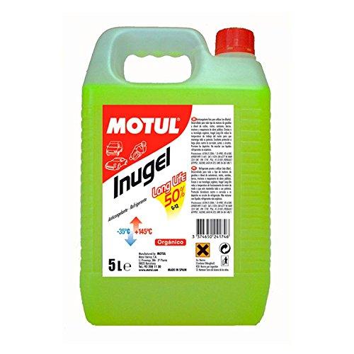 Fles, koelvloeistof voor inugel, lang, 50% (-35 °C), 5 l.