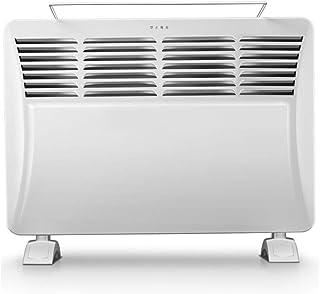 WLJQNQ Radiador eléctrico, Placa de cerámica de 2000 W Calefacción con termostato Radiador y Perilla de Control Temperatura Ajustable Blanco Calentador eléctrico