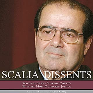 Scalia Dissents audiobook cover art