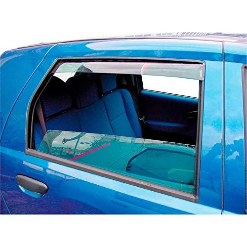 Déflecteurs latéraux Master (arrière) compatible avec Honda Civic (FC) Sedan 2016-