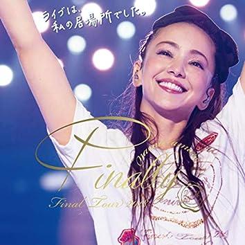 namie amuro Final Tour 2018 ~Finally~ at Tokyo Dome 2018.6.3