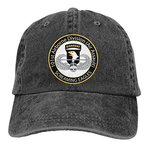101st Airborne Screaming Eagles - Gorra unisex para adultos, ajustable, gorra de béisbol