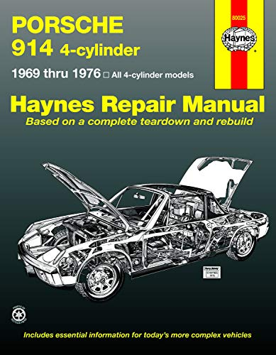 porsche 914 service manual - 2