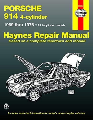 Porsche 914 4-cylinder (69-76) Haynes Repair Manual