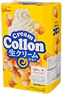 Glico, Collon, Biscuit Roll, Cream Flavour, 81 g [Pack of 2 pieces]