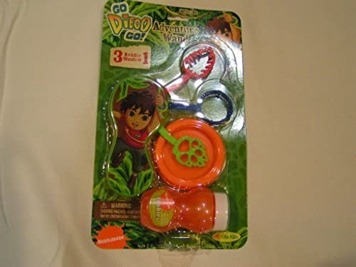 Go Diego Go Adventure Bubble Wand by Little Kids