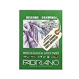 Unbekannt Fabriano 22529742Bloc de Dibujo, FSC 100% Reciclado, Color Blanco, 29,7x 42x 0,5cm