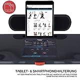 Miweba Sports elektrisches Laufband HT500 – Klappbar – 0,75 Ps – 14 Km/h – 12 Laufprogramme – Tablet Halterung – Große Lauffläche - 6