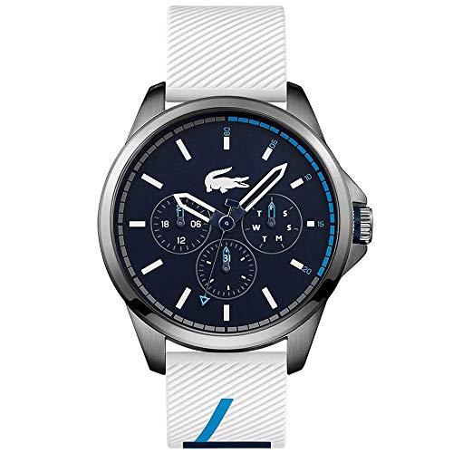 Lacoste Herren Multi Zifferblatt Quarz Uhr mit Silikon Armband 2010980